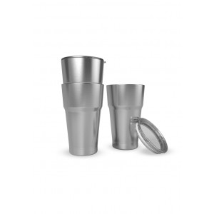 Stack Mugs 18Oz Double Wall Steel Vacuum Stack Cup