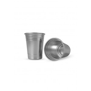 Party Cups 16Oz Single Wall Steel Cups