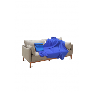 4-in-1 Recycled Fleece Blanket for WORK or at HOME