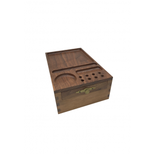 Black Walnut Wood Storage Box