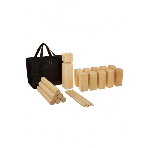 Outdoor Wooden Kubb Game set With Carrying Bag