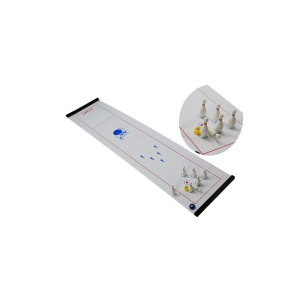 Indoor Table Top Bowling Shuffleboard Set Game