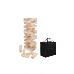 Outdoor Giant Tumbler Tower Games With Carrying Bag