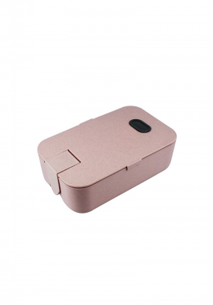 Wheat Straw Lunch Box With Phone Holder