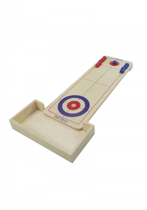 Indoor Table Curling Game With Curling Balls